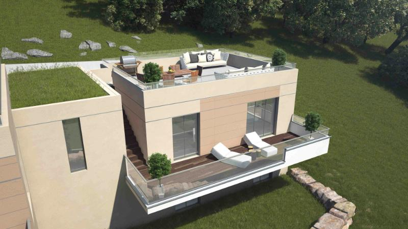Superior 2 Brand New Contemporary Villas West Facing With Roof Terrace And Garden