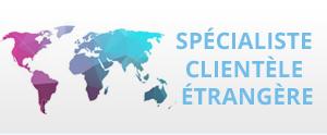spécialiste clientèle étrangère