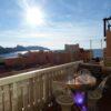 Appartement traversant avec vue mer panoramique -  parc maritime des îles du Frioul