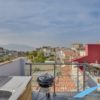 Duplex traversant dernier étage avec terrasses et vue mer panoramique -  Bompard