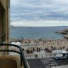 Appartement avec balcon et vue mer latérale - Plage des Catalans